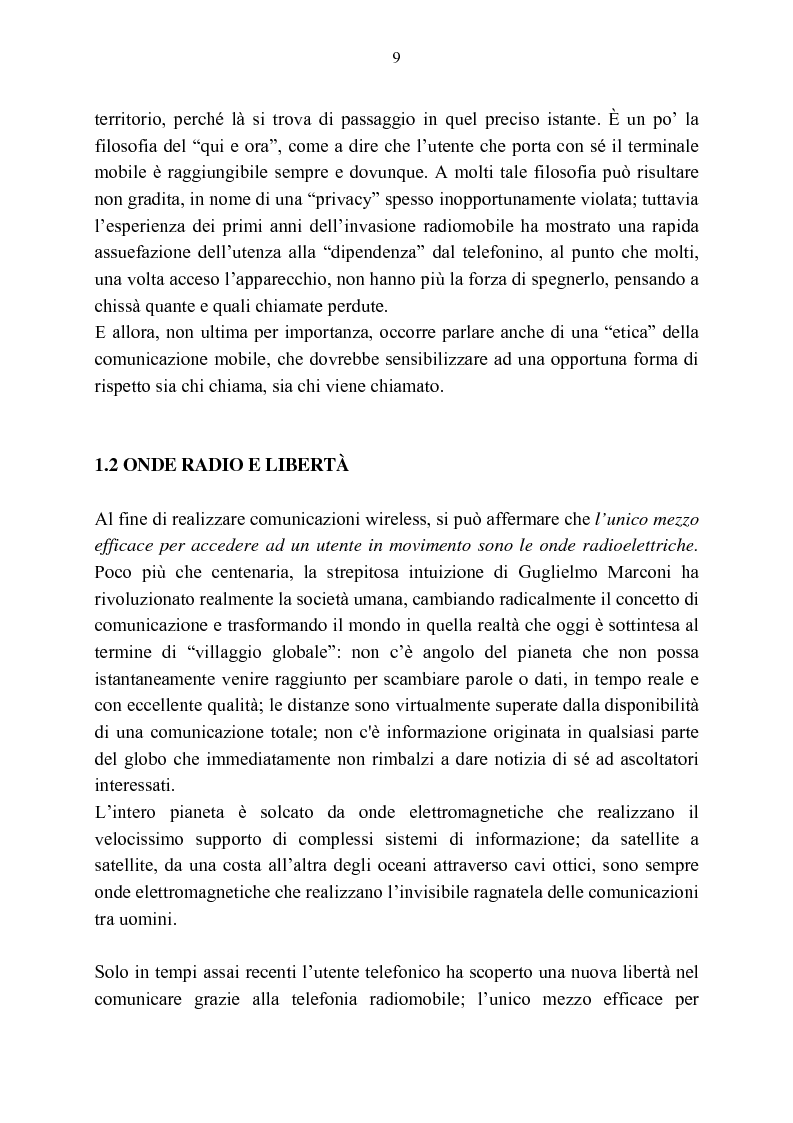 Anteprima della tesi: Rassegna critica sulle modalità di accesso alla wireless internet, Pagina 2