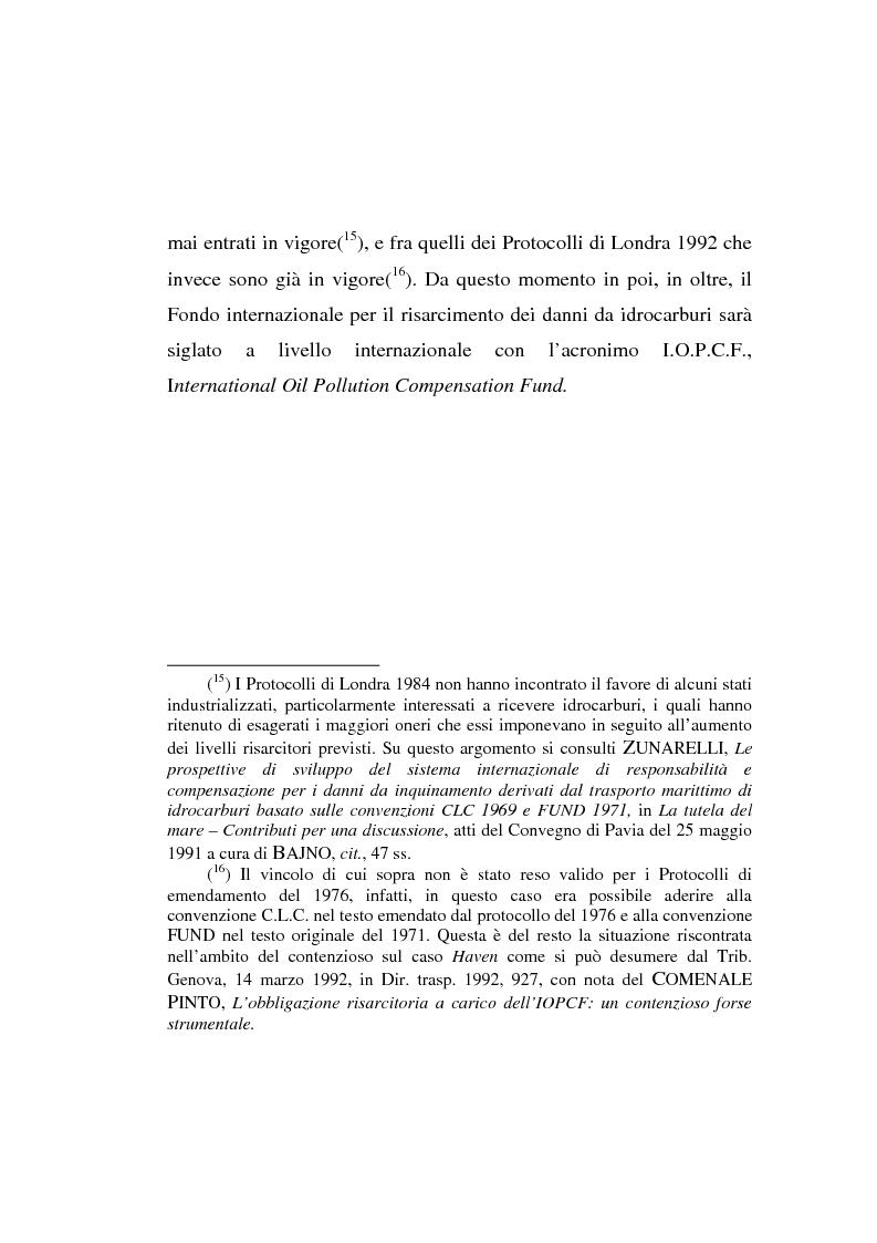 Anteprima della tesi: Lo spandimento in mare di idrocarburi, Pagina 10