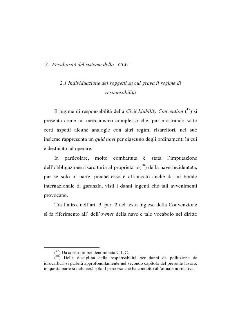 Anteprima della tesi: Lo spandimento in mare di idrocarburi, Pagina 11
