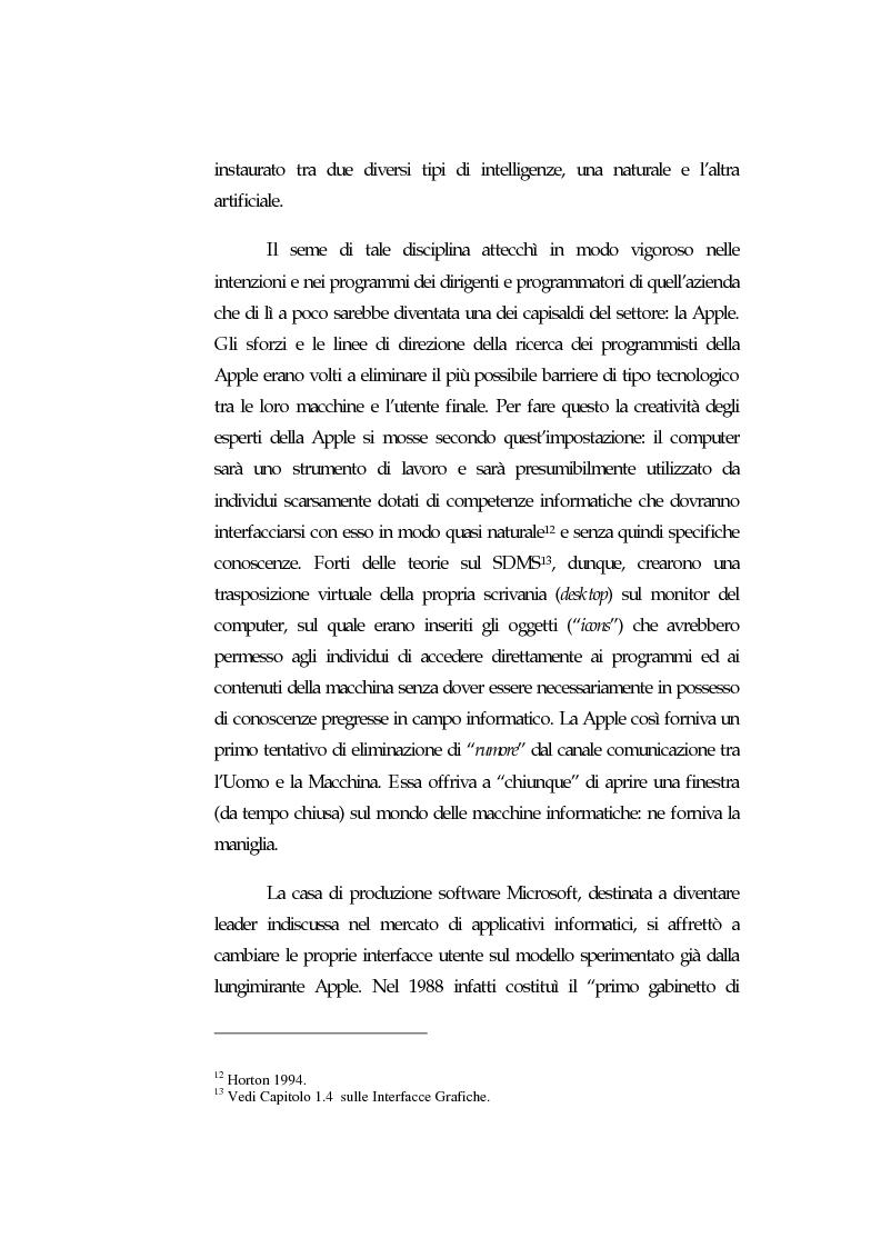 Anteprima della tesi: Web Usability: un approccio multidisciplinare alla progettazione del Web, Pagina 10