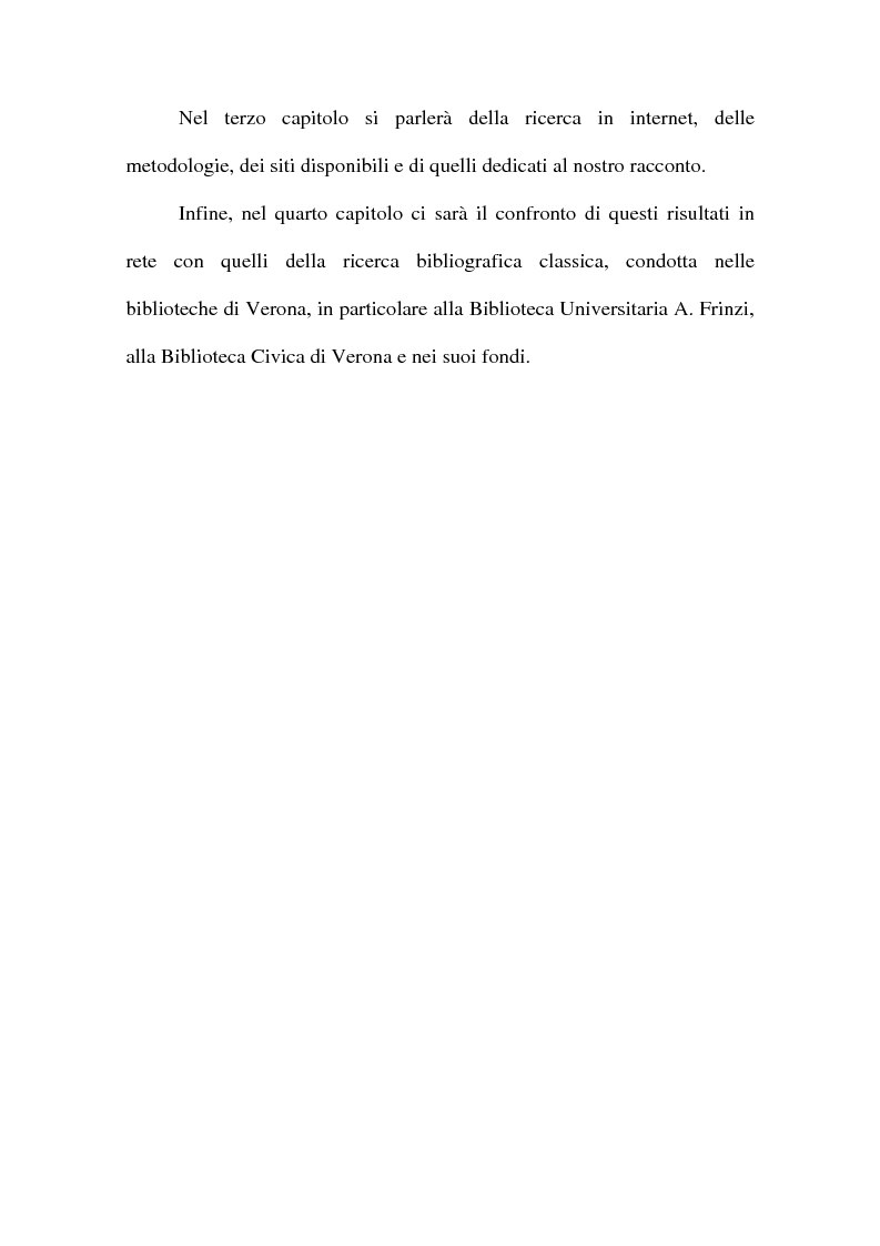 Anteprima della tesi: ''The Devil in the Belfry'' di E. A. Poe dalla carta a Internet, Pagina 2