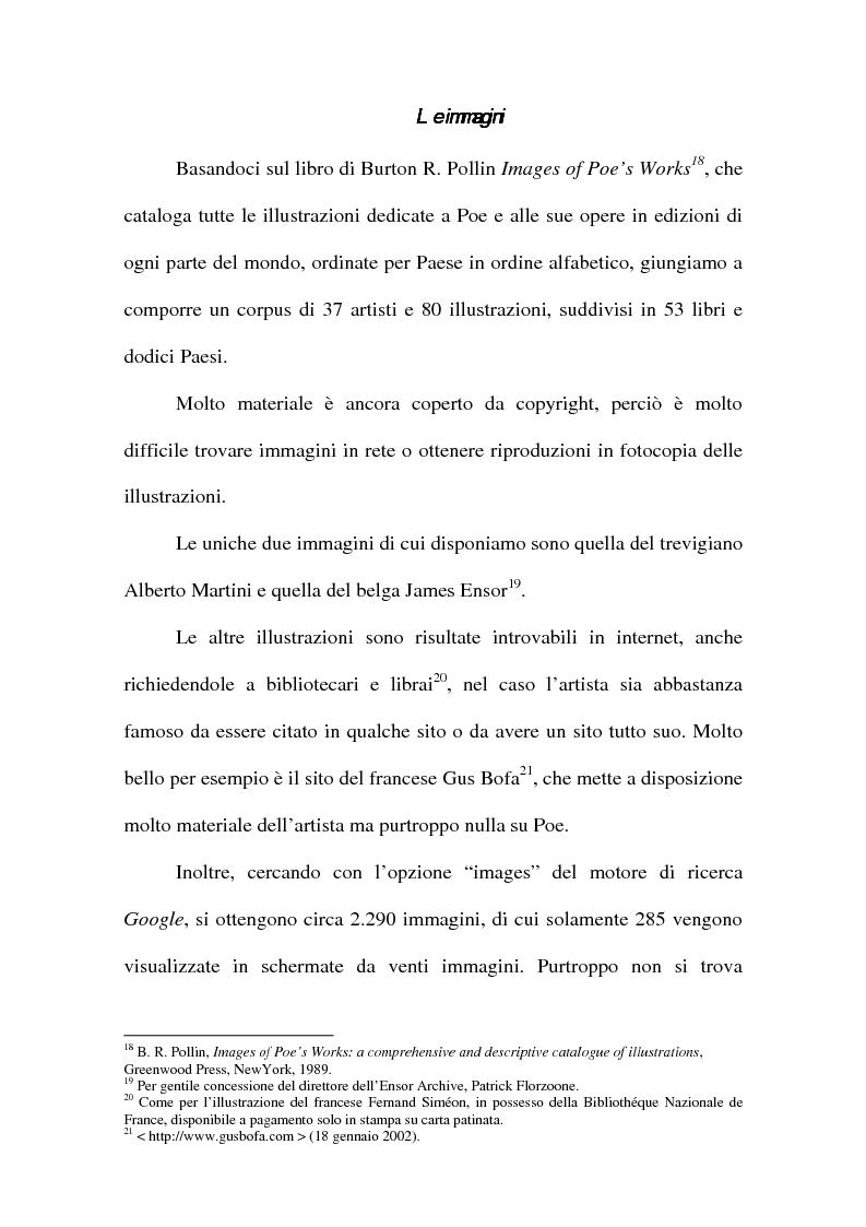 Anteprima della tesi: ''The Devil in the Belfry'' di E. A. Poe dalla carta a Internet, Pagina 8