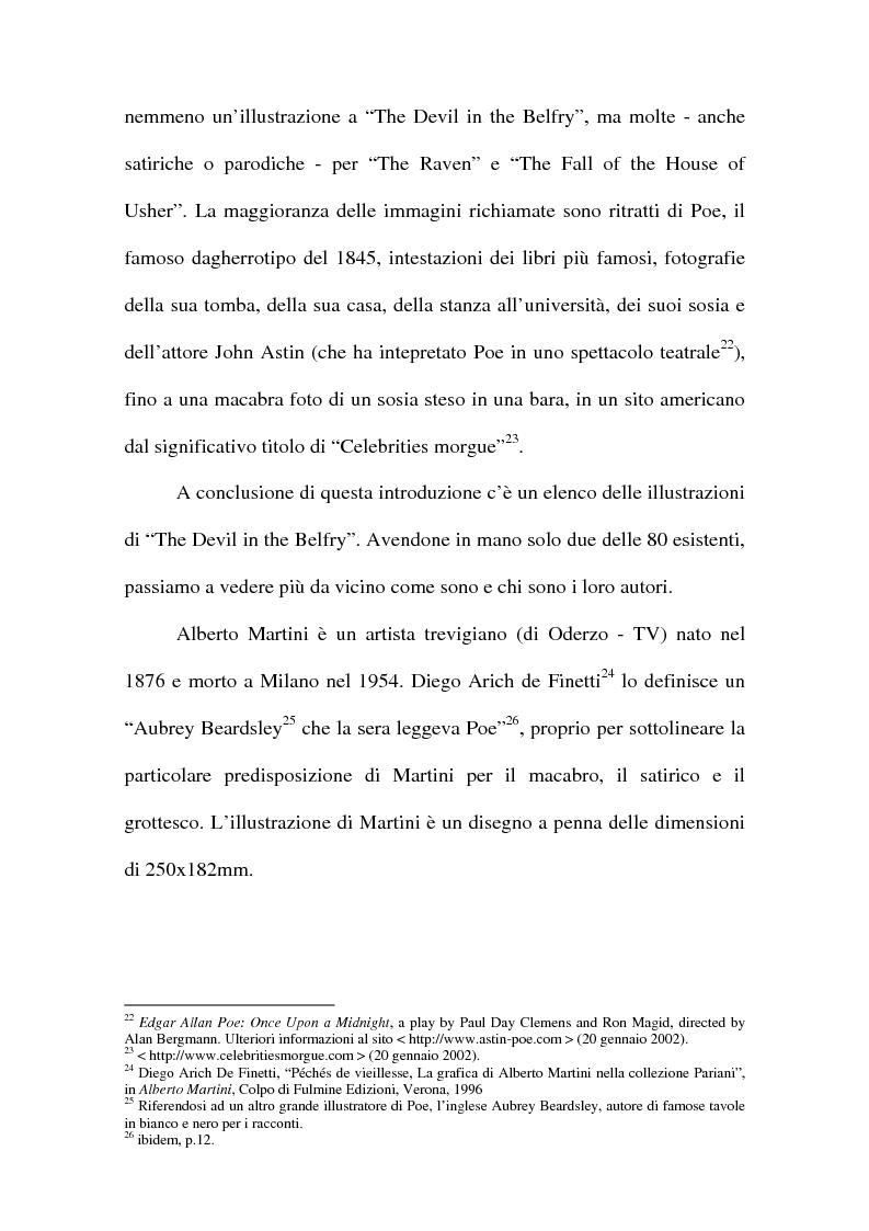 Anteprima della tesi: ''The Devil in the Belfry'' di E. A. Poe dalla carta a Internet, Pagina 9