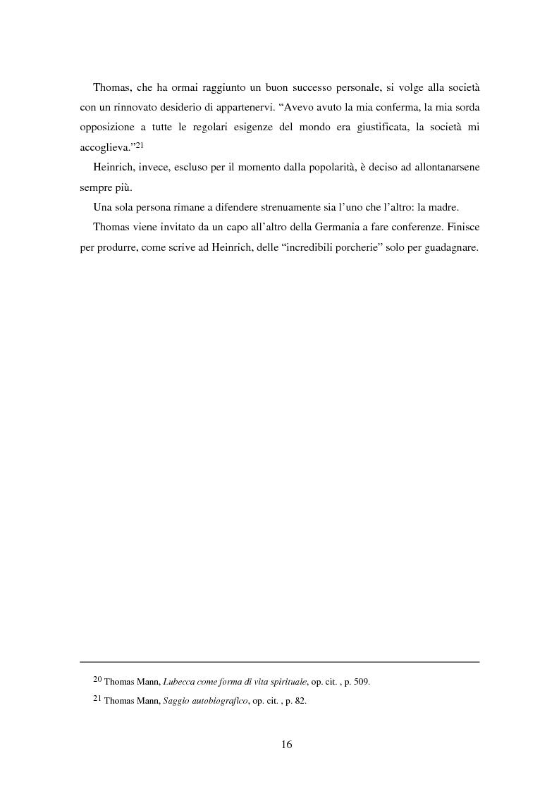 Anteprima della tesi: La formazione dell'uomo nelle opere di Thomas Mann, Pagina 12