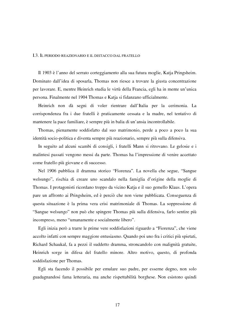 Anteprima della tesi: La formazione dell'uomo nelle opere di Thomas Mann, Pagina 13