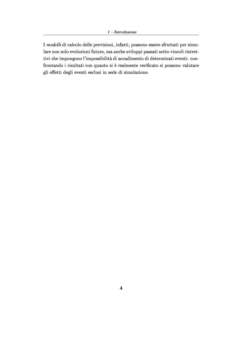 Anteprima della tesi: Software per le previsioni demografiche ed un loro impiego per lo studio degli effetti delle migrazioni sulle popolazioni, Pagina 4
