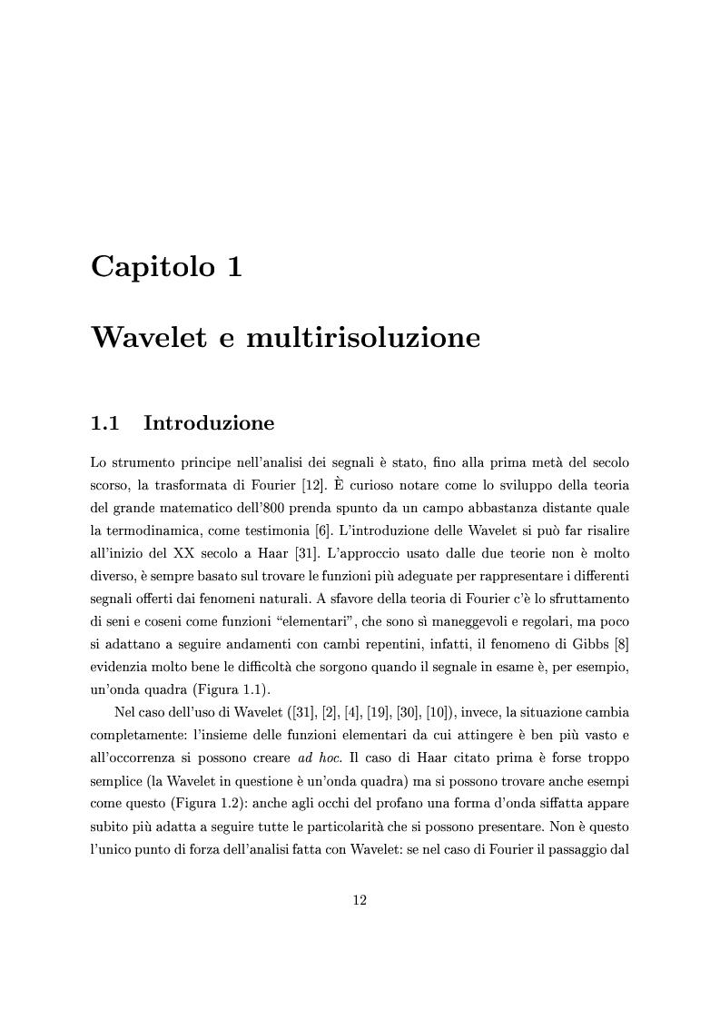 Algoritmi per la compressione di immagini a istogramma sparso nella catena jpeg2000 - Tesi di Laurea