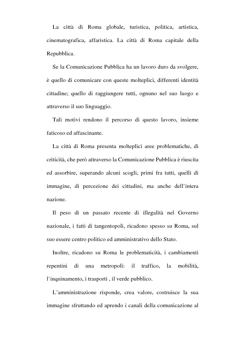 Anteprima della tesi: Sinergie tra ufficio stampa e ufficio relazioni con il pubblico nella comunicazione della pubblica amministrazione, Pagina 4