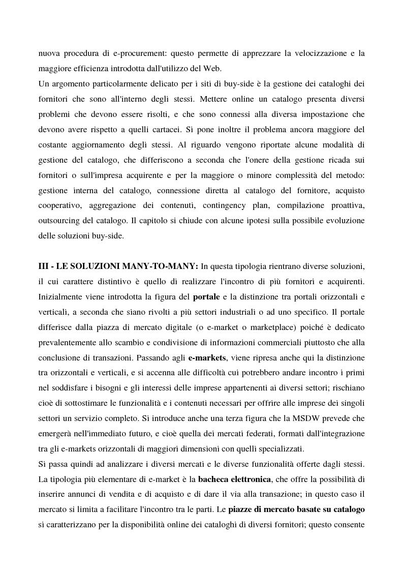 Anteprima della tesi: Il commercio elettronico business to business, Pagina 6