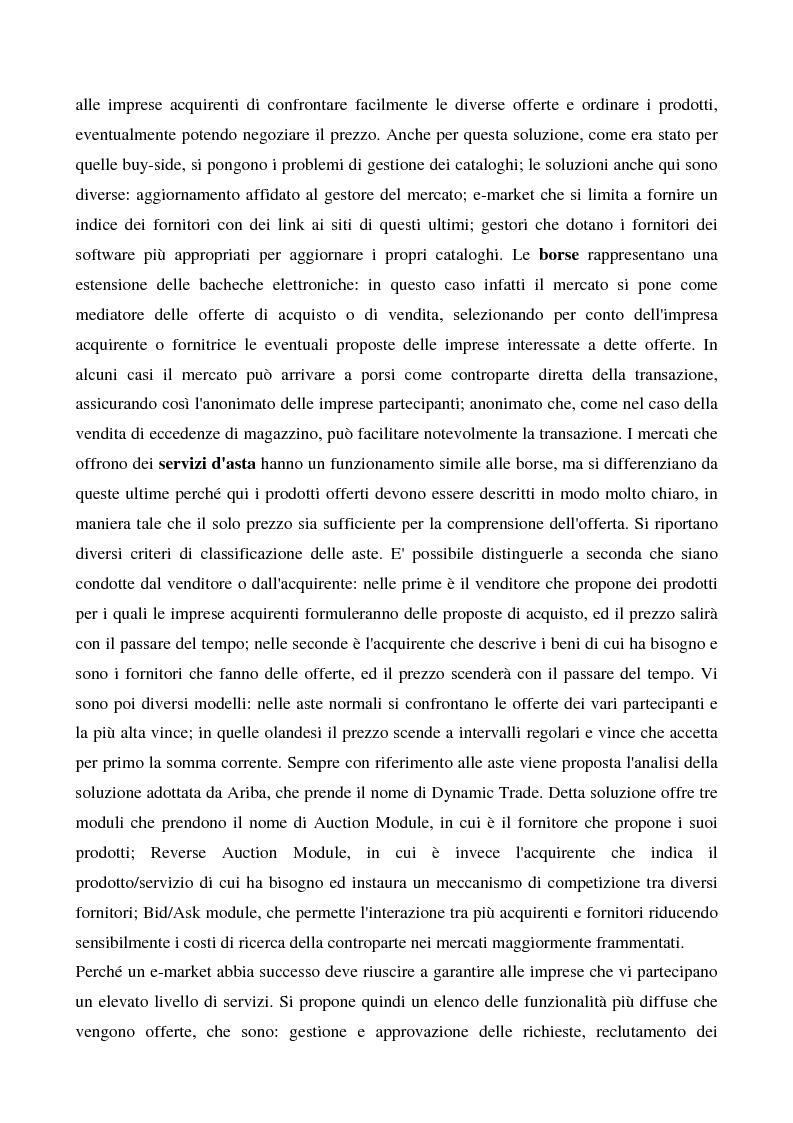 Anteprima della tesi: Il commercio elettronico business to business, Pagina 7