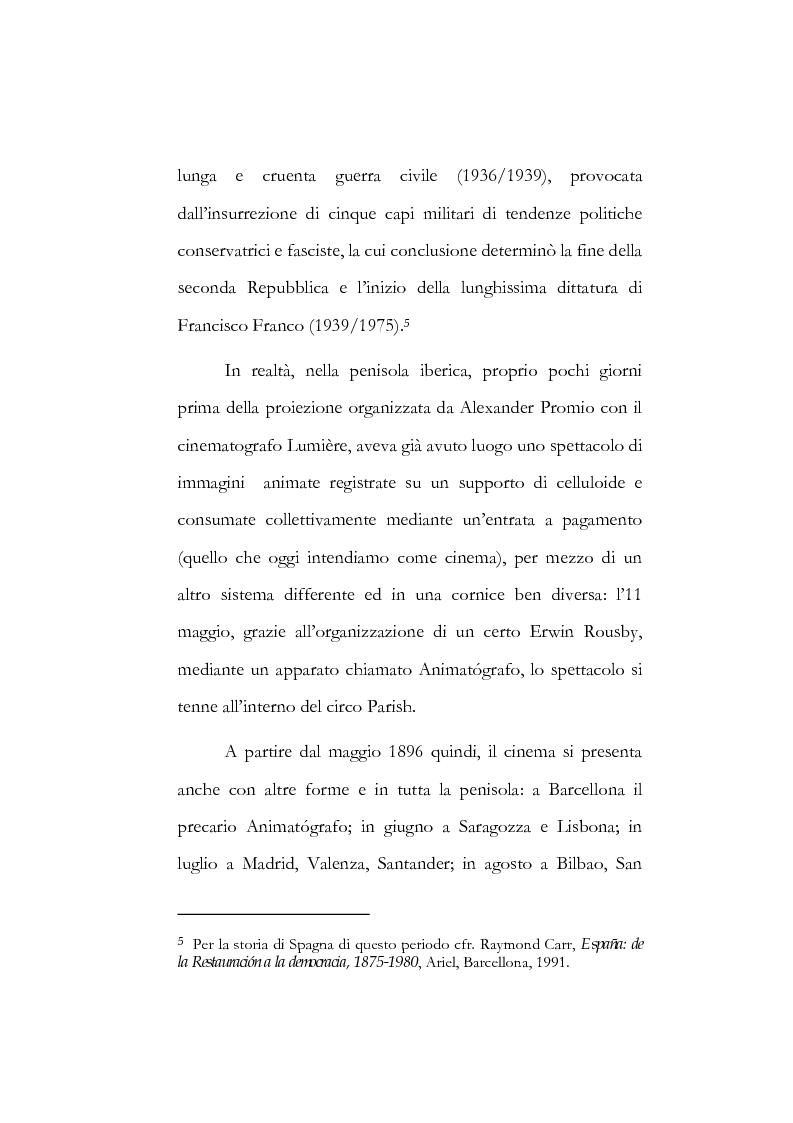 """Anteprima della tesi: I poeti spagnoli della ''Generazione del '27"""" ed il cinema, Pagina 13"""
