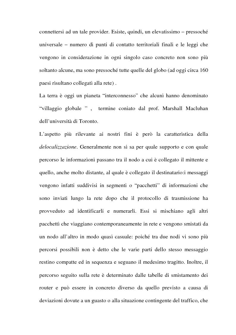 Anteprima della tesi: Il commercio telematico: legge regolatrice, Pagina 11