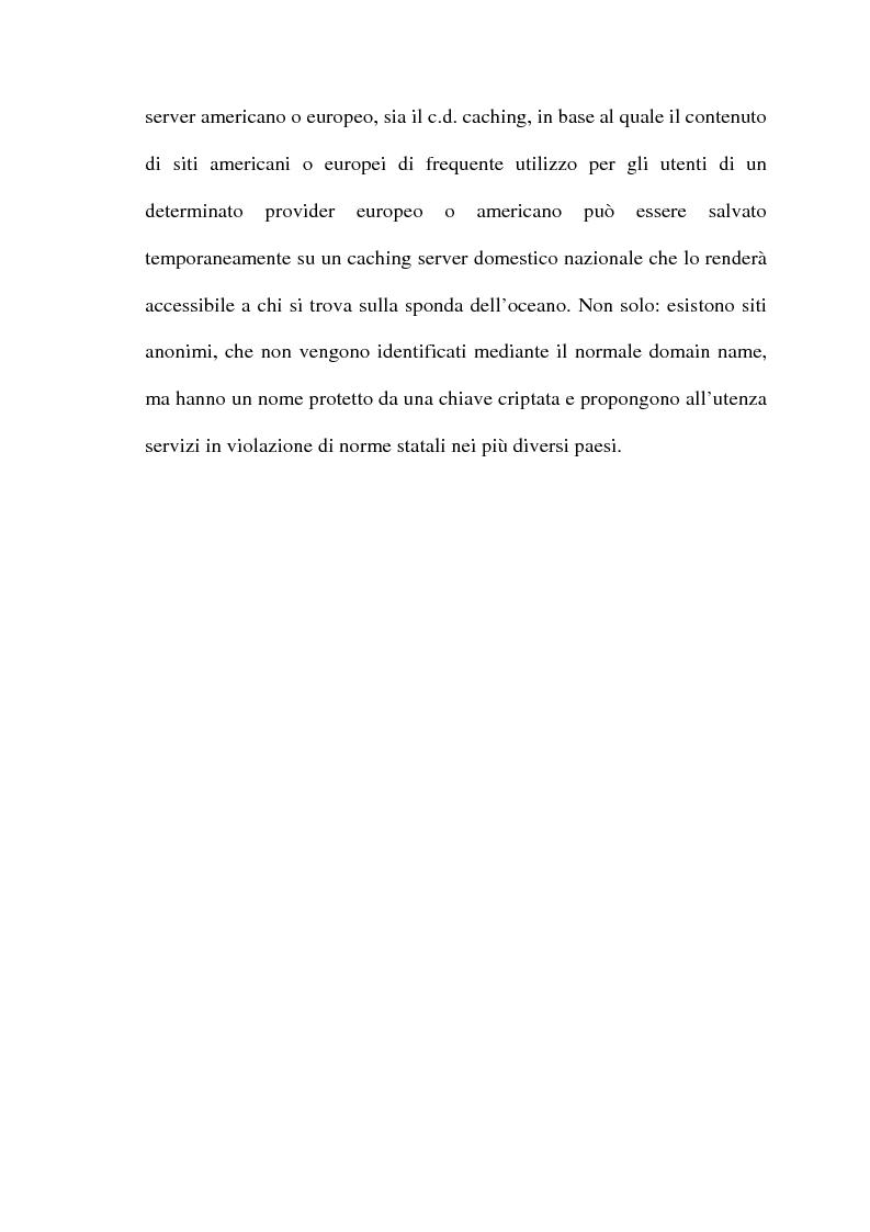 Anteprima della tesi: Il commercio telematico: legge regolatrice, Pagina 13