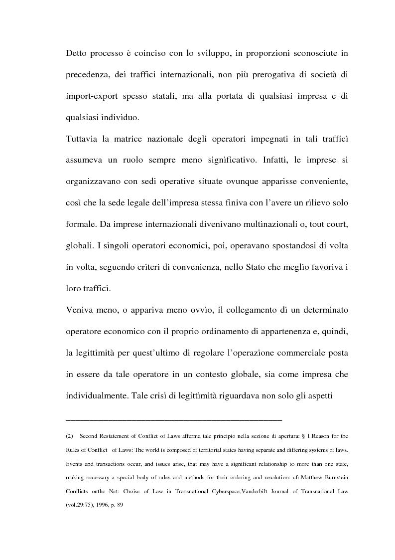 Anteprima della tesi: Il commercio telematico: legge regolatrice, Pagina 15