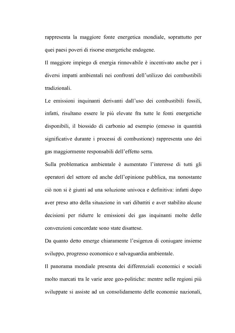 Anteprima della tesi: Bilancio energetico della regione Puglia: luci ed ombre, Pagina 3