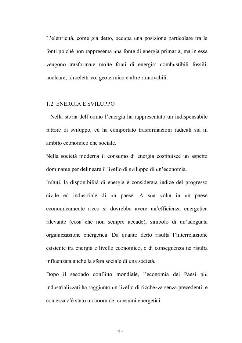 Anteprima della tesi: Bilancio energetico della regione Puglia: luci ed ombre, Pagina 8