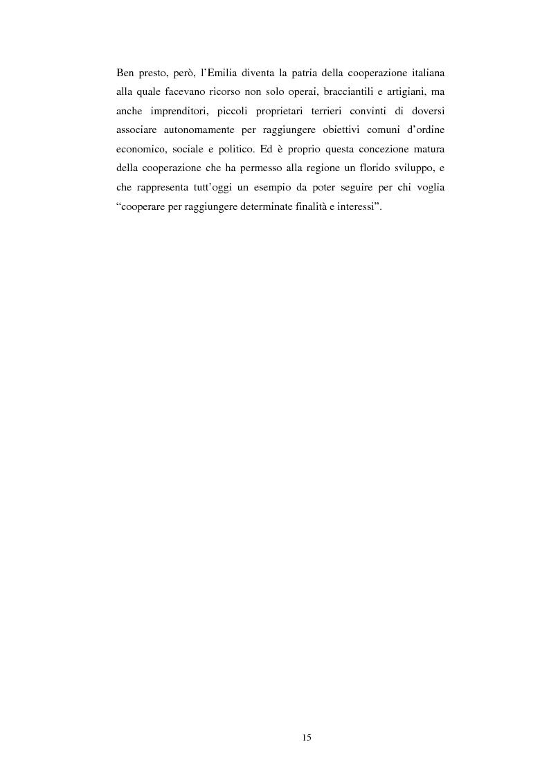 Anteprima della tesi: Gli aspetti economici dell'impresa cooperativa e le sue potenzialità di sviluppo nel Mezzogiorno: il caso della cooperativa ''Giustizia e libertà'', Pagina 11