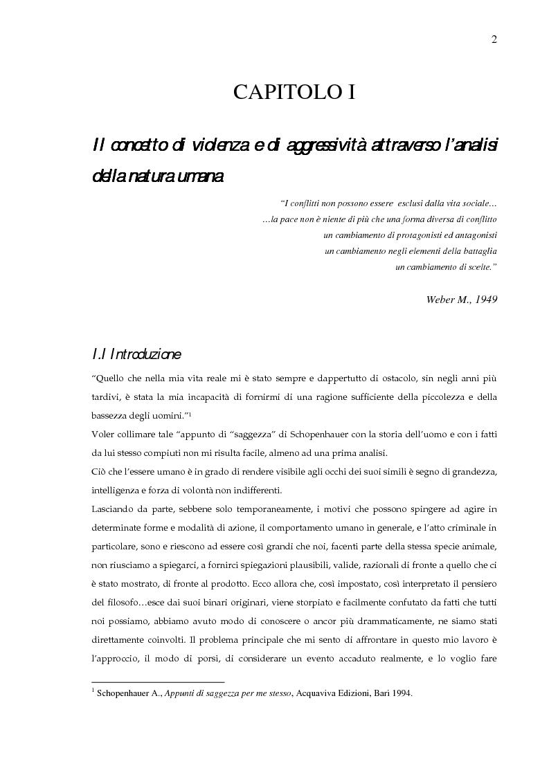 Anteprima della tesi: Criminologia e terrorismo. L'esperienza irlandese, Pagina 1