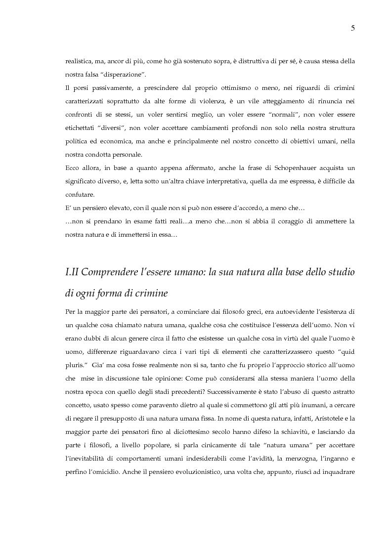 Anteprima della tesi: Criminologia e terrorismo. L'esperienza irlandese, Pagina 4