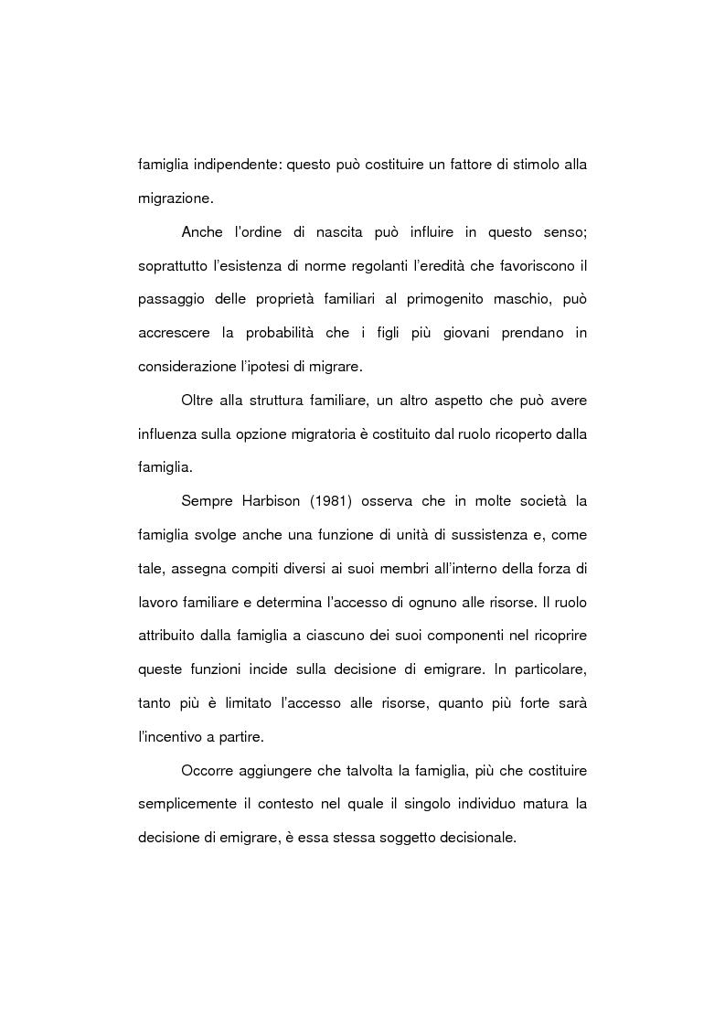 Anteprima della tesi: Le famiglie immigrate in Italia: caratteristiche, bisogni ed elementi di novità, Pagina 7