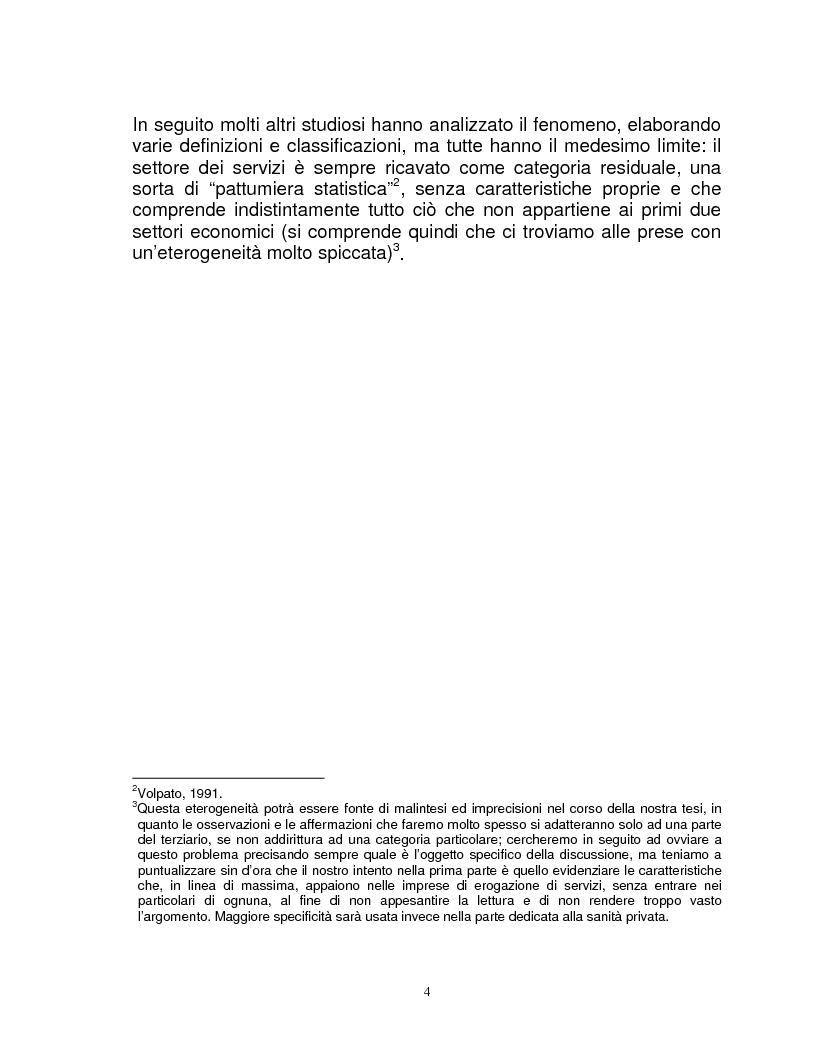 Anteprima della tesi: Organizzazione e gestione del personale nelle aziende private di servizi, Pagina 2
