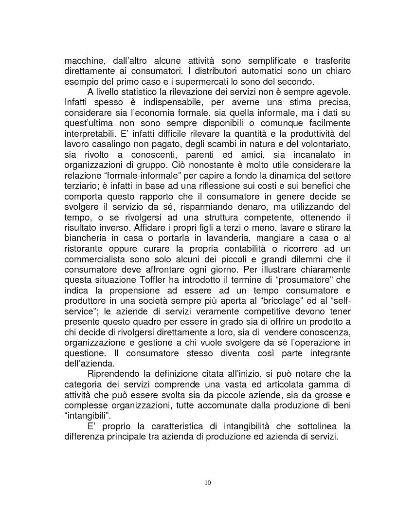 Anteprima della tesi: Organizzazione e gestione del personale nelle aziende private di servizi, Pagina 8