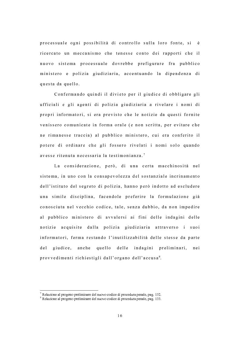Anteprima della tesi: I confidenti della polizia, Pagina 13