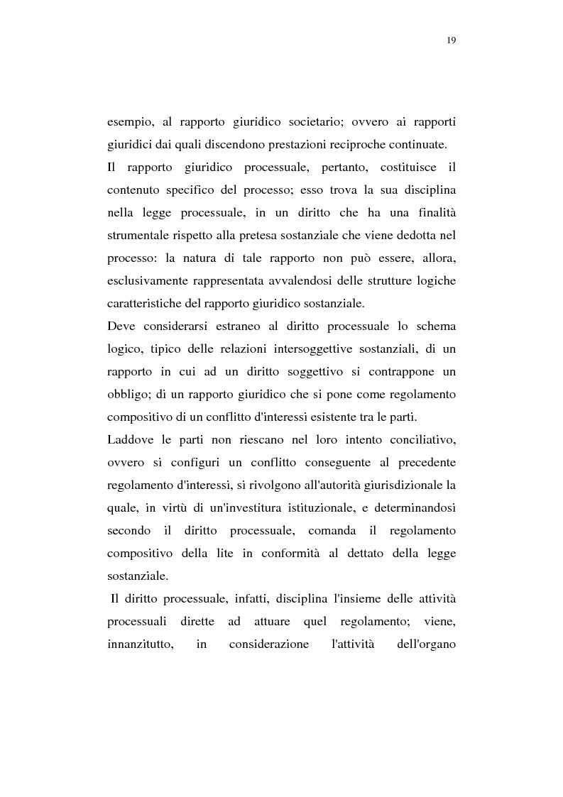 Anteprima della tesi: La pregiudizialità tra le questioni del processo, Pagina 12
