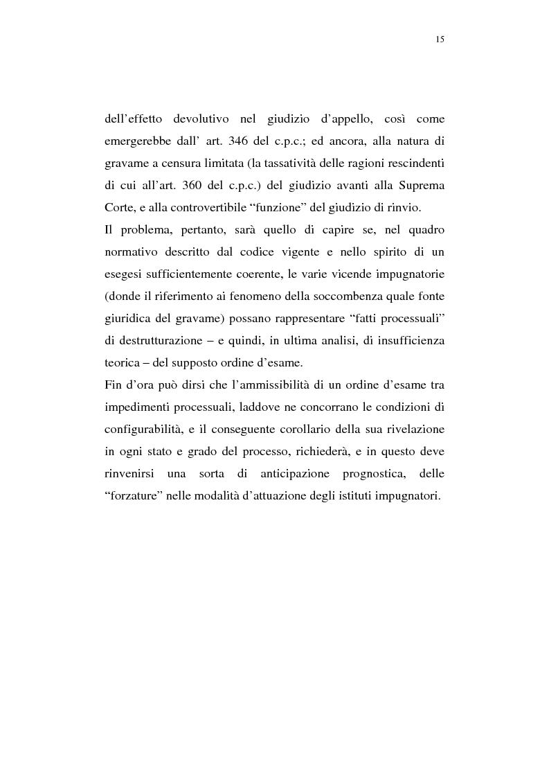 Anteprima della tesi: La pregiudizialità tra le questioni del processo, Pagina 8