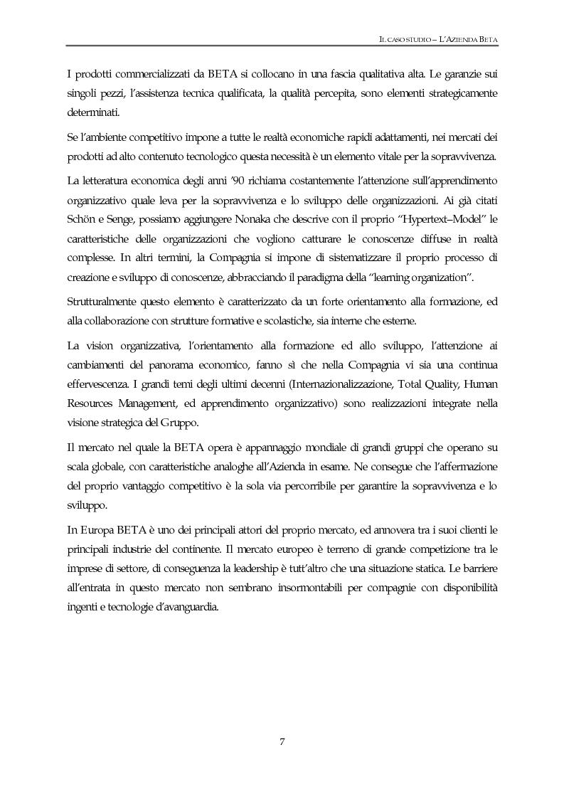 Anteprima della tesi: Un modello di gestione integrata delle risorse umane - Testimonianza di un caso aziendale, Pagina 4