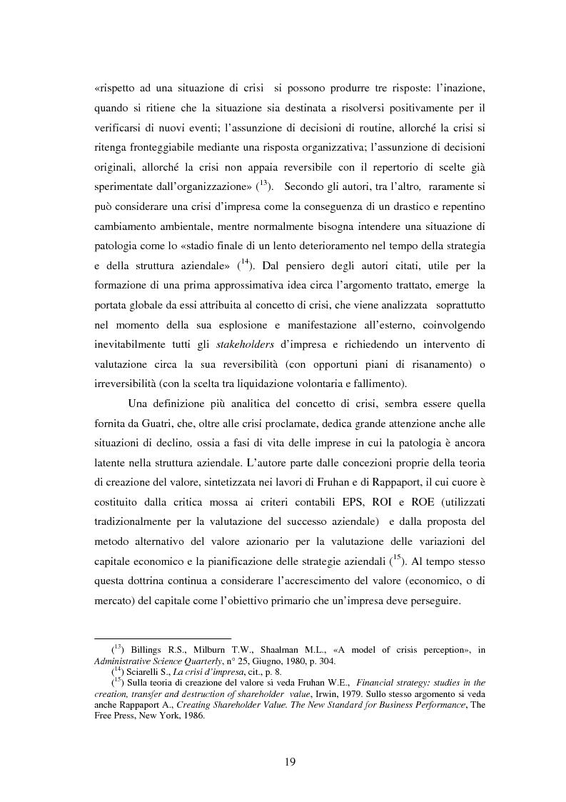 Anteprima della tesi: Crisi e ristrutturazione di una grande impresa: il caso Enron, Pagina 12