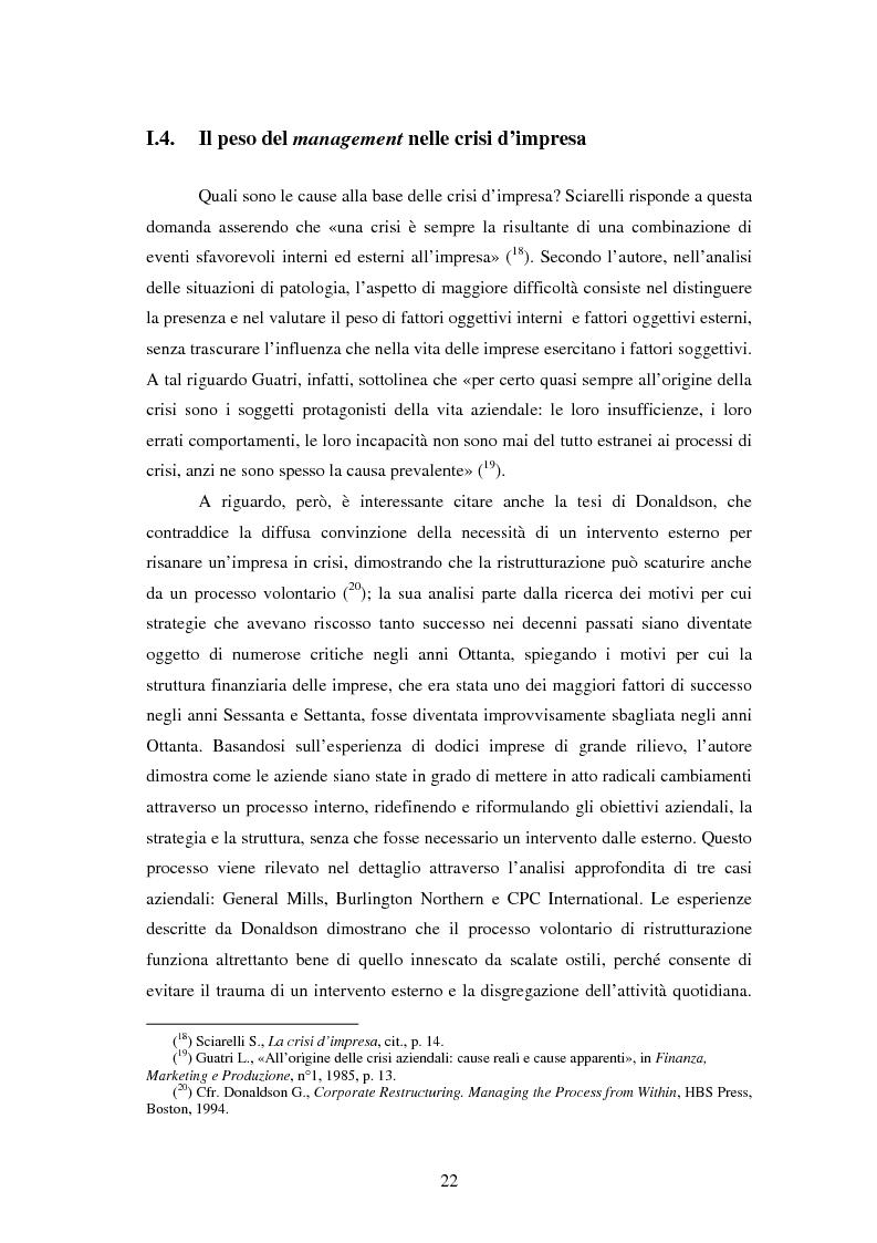 Anteprima della tesi: Crisi e ristrutturazione di una grande impresa: il caso Enron, Pagina 15