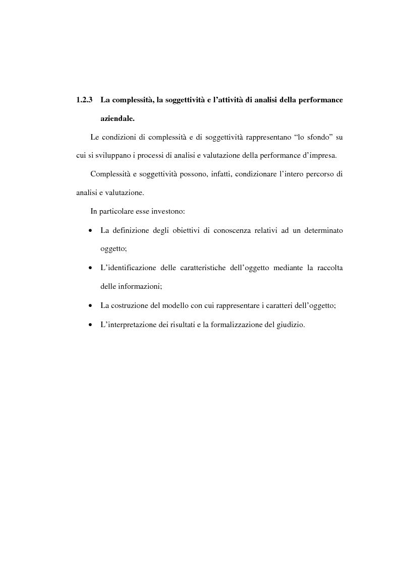 Anteprima della tesi: L'analisi della performance economico-finanziaria mediante software di gestione di fogli elettronici. Il caso della CTP s.p.a. di Napoli, Pagina 11