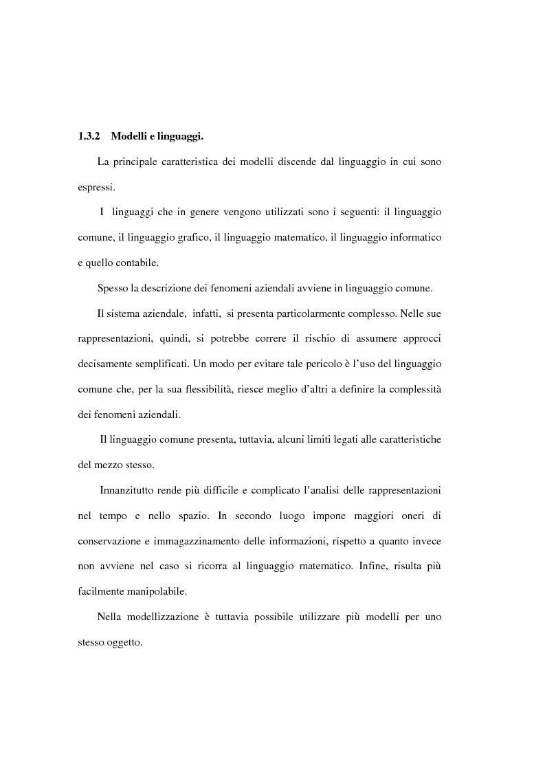 Anteprima della tesi: L'analisi della performance economico-finanziaria mediante software di gestione di fogli elettronici. Il caso della CTP s.p.a. di Napoli, Pagina 14
