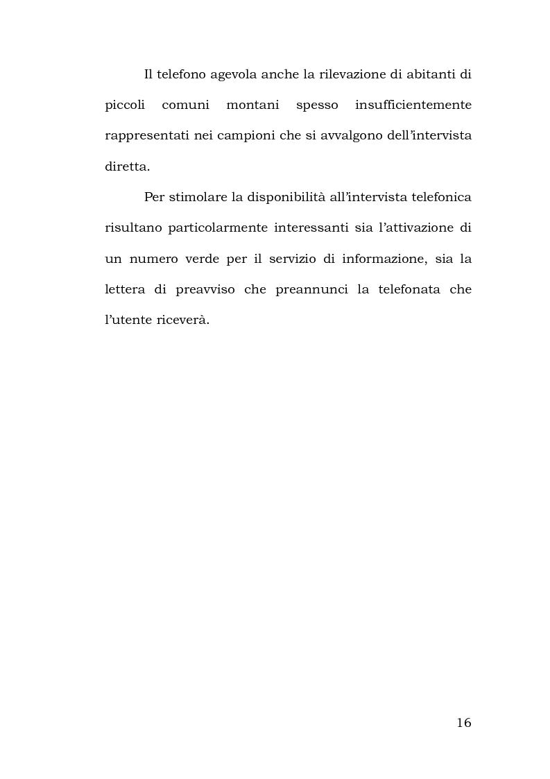 Anteprima della tesi: Confronto tra metodi di rilevazione in un'indagine sulla percezione della pericolosità, Pagina 12