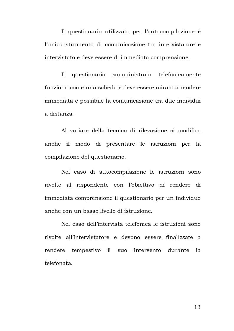 Anteprima della tesi: Confronto tra metodi di rilevazione in un'indagine sulla percezione della pericolosità, Pagina 9