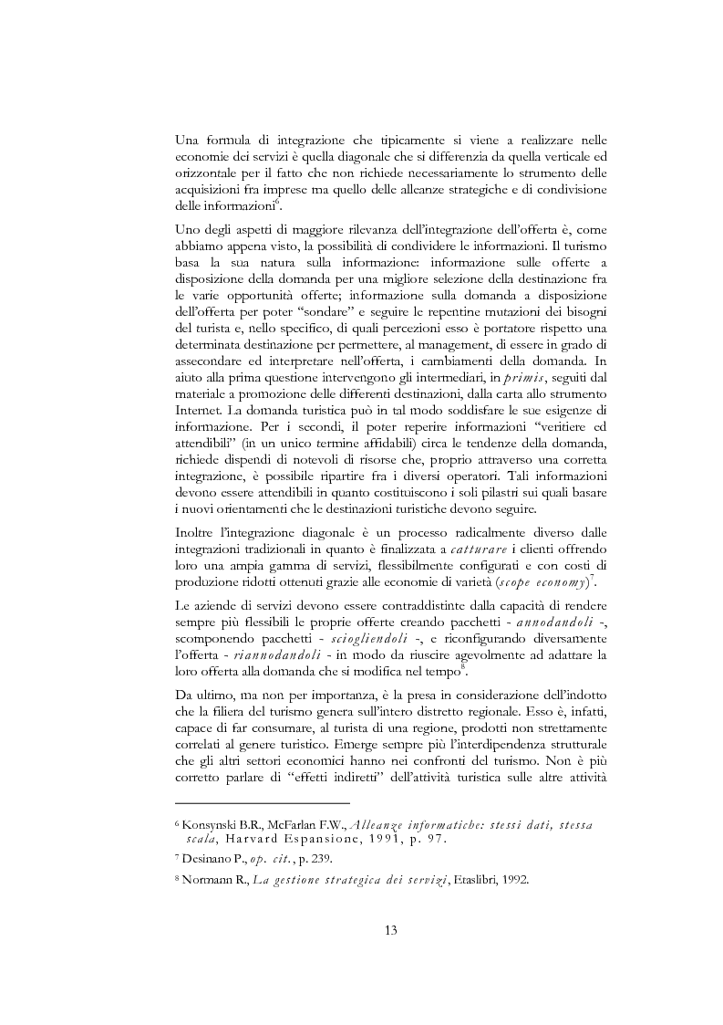 Anteprima della tesi: Information and communication technologies e turismo. Destination management system ed aree naturali protette, Pagina 11