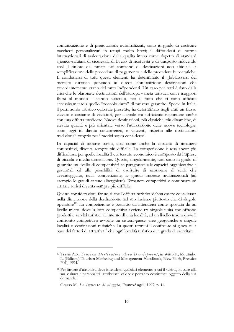 Anteprima della tesi: Information and communication technologies e turismo. Destination management system ed aree naturali protette, Pagina 14