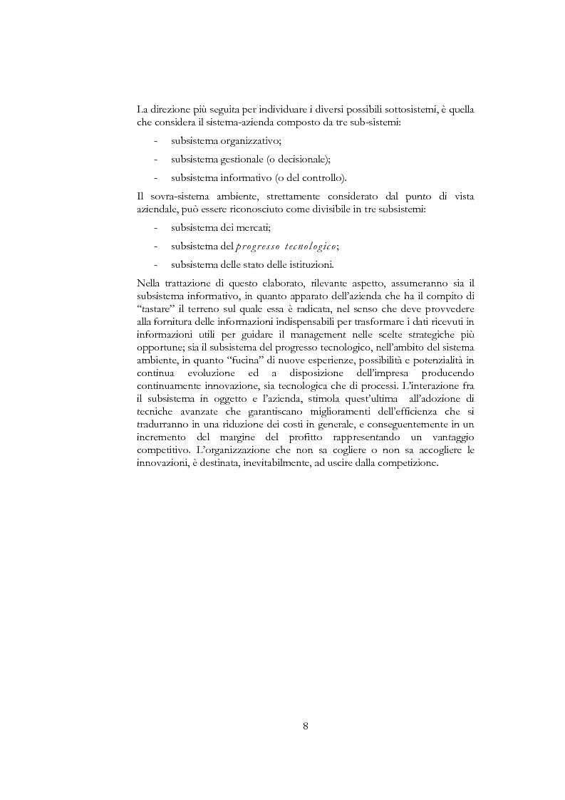 Anteprima della tesi: Information and communication technologies e turismo. Destination management system ed aree naturali protette, Pagina 6