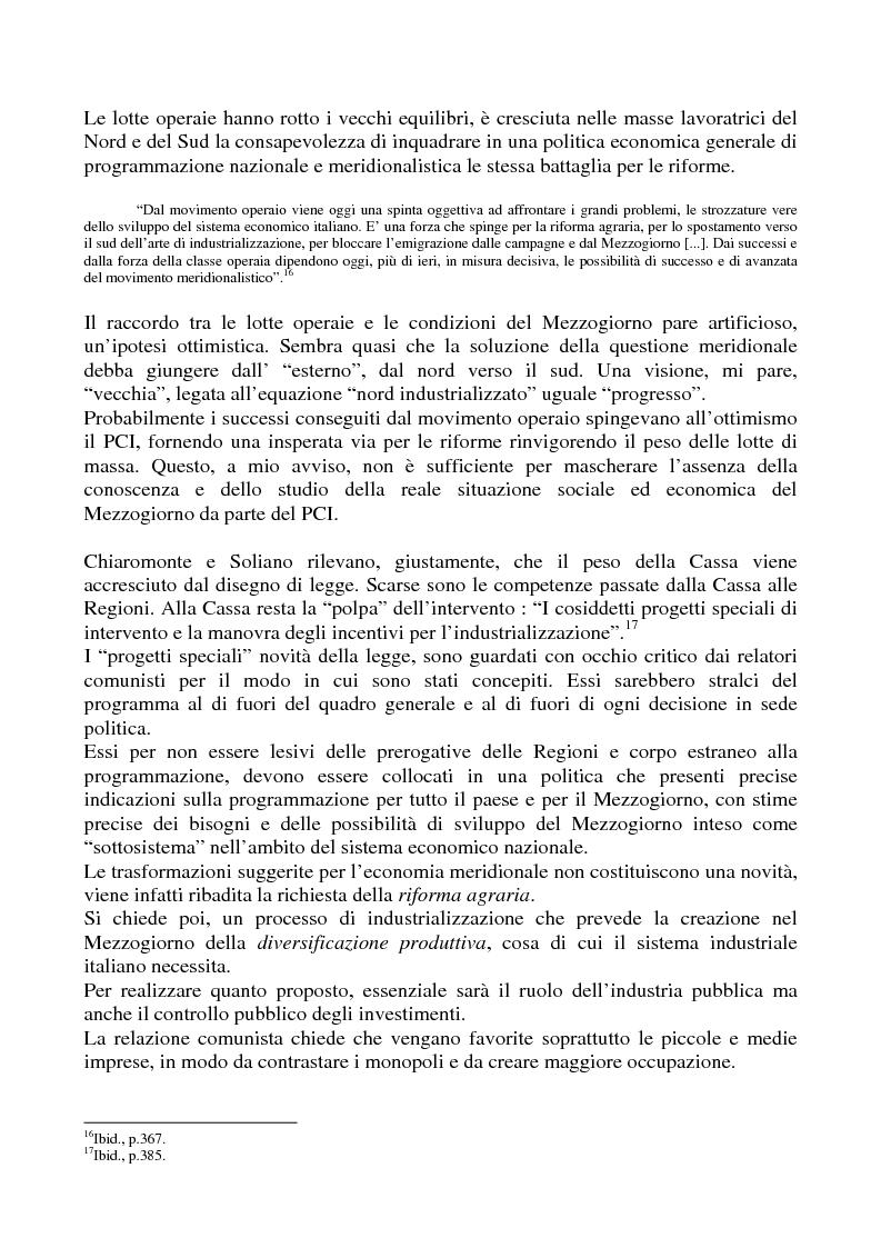 Anteprima della tesi: Il problema meridionale e i comunisti italiani (1955-1975), Pagina 10