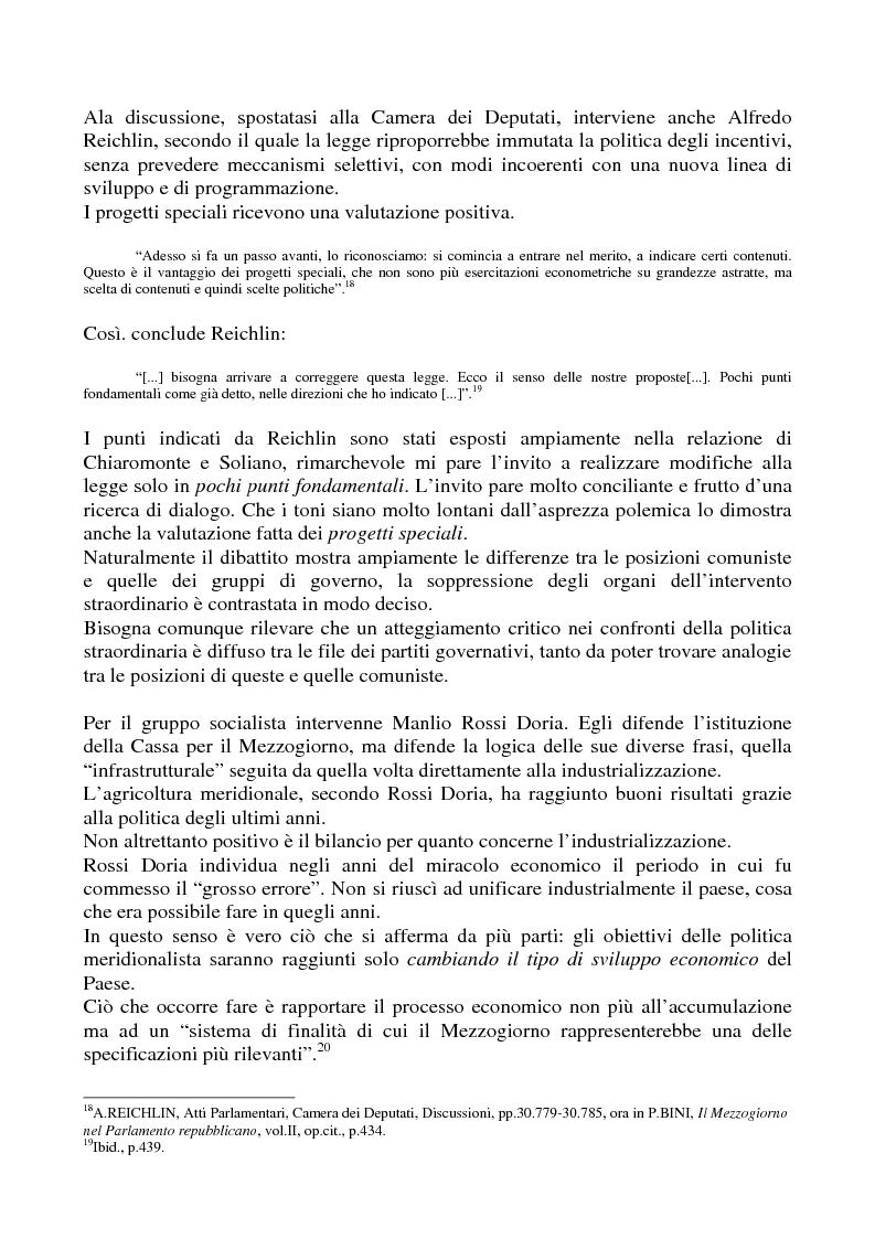 Anteprima della tesi: Il problema meridionale e i comunisti italiani (1955-1975), Pagina 11
