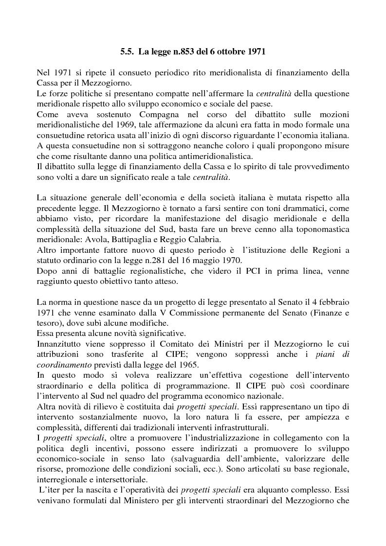 Anteprima della tesi: Il problema meridionale e i comunisti italiani (1955-1975), Pagina 5