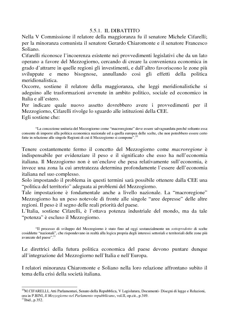 Anteprima della tesi: Il problema meridionale e i comunisti italiani (1955-1975), Pagina 7