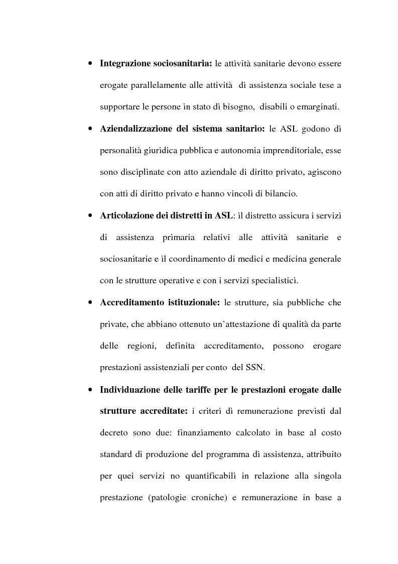 Anteprima della tesi: Organizzare i servizi alla persona. Il caso del P.O. di Maddaloni, Pagina 14