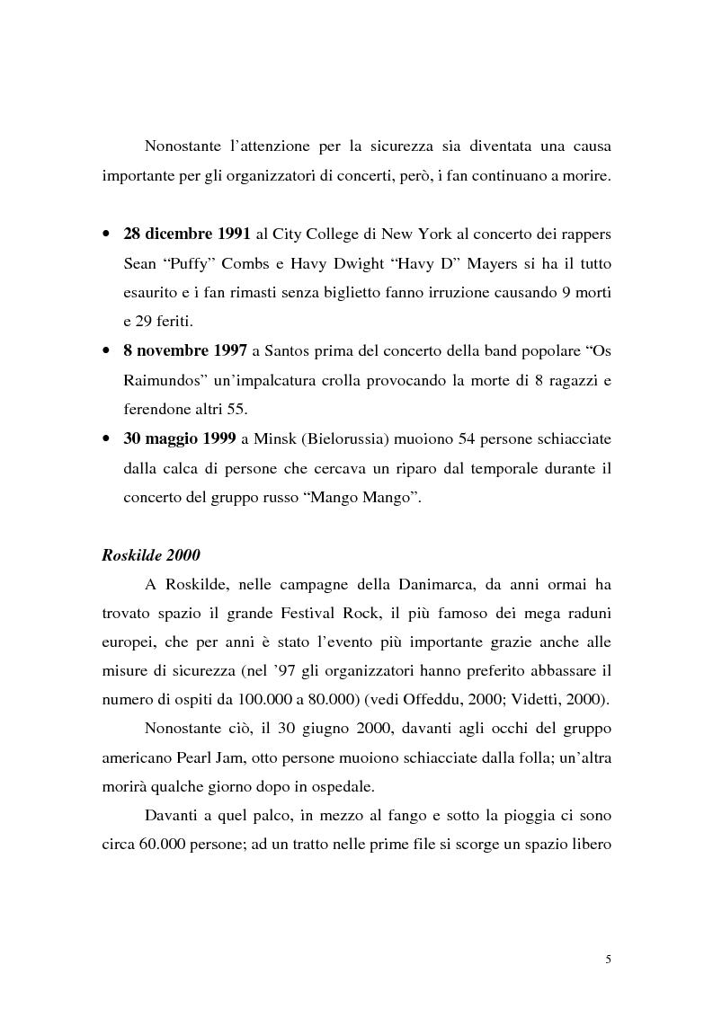 Anteprima della tesi: Processi di depersonalizzazione in un contesto di massa, Pagina 5