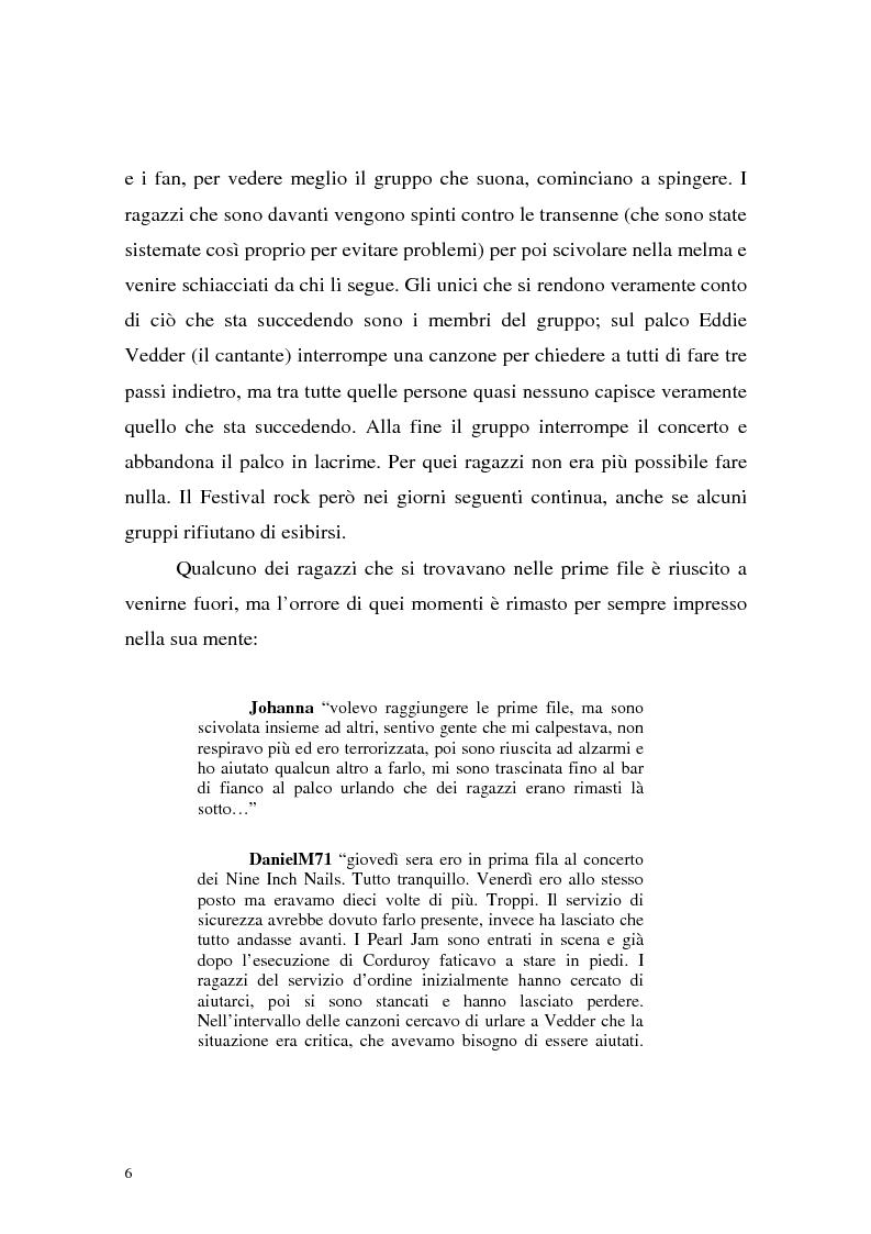 Anteprima della tesi: Processi di depersonalizzazione in un contesto di massa, Pagina 6