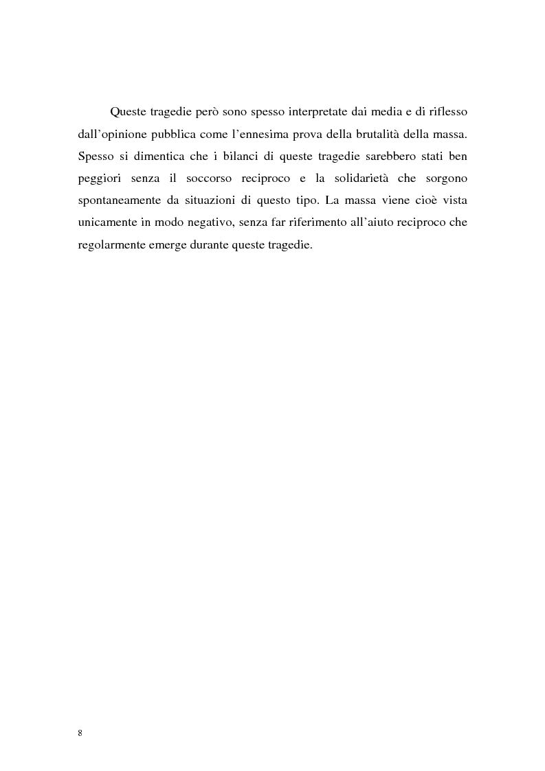 Anteprima della tesi: Processi di depersonalizzazione in un contesto di massa, Pagina 8