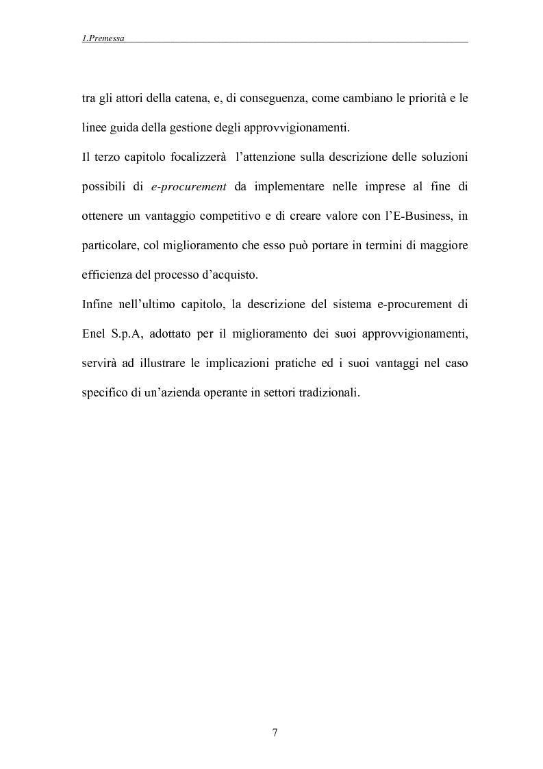 Anteprima della tesi: Tecnologie di rete ed evoluzione degli approvvigionamenti: l'e-procurement, Pagina 4