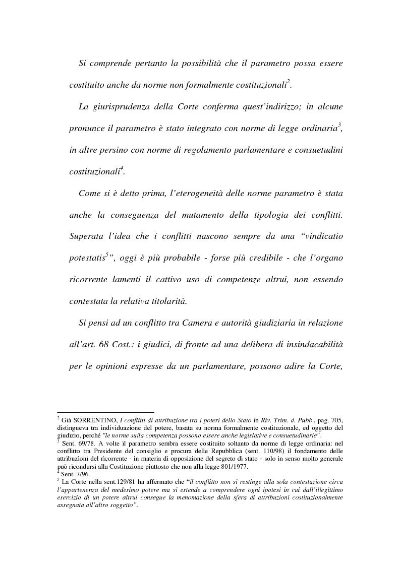 Anteprima della tesi: I conflitti interorganici (la nozione di potere nella giurisprudenza costituzionale), Pagina 5