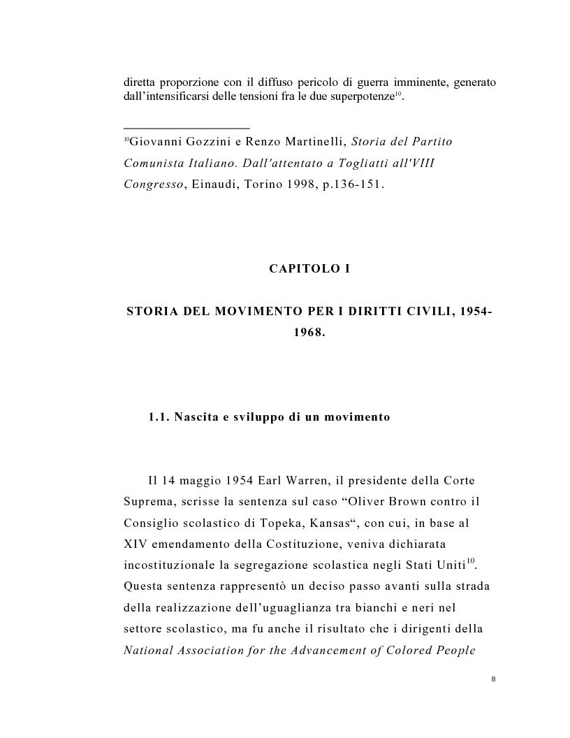 Anteprima della tesi: La stampa periodica comunista italiana e il movimento afroamericano negli Stati Uniti, 1954-68., Pagina 4